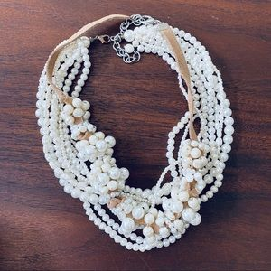 Set of 2 Faux Pearl Necklaces